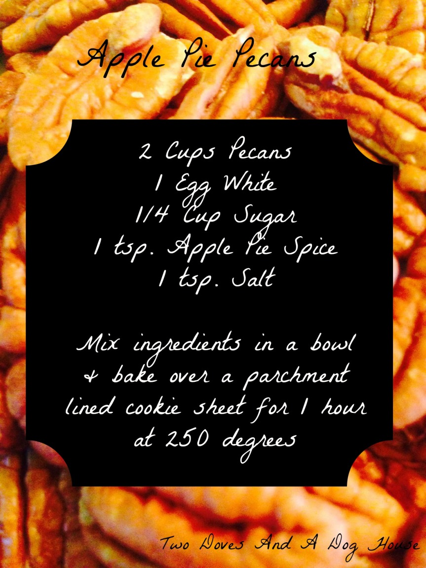 Apple Pie Pecans